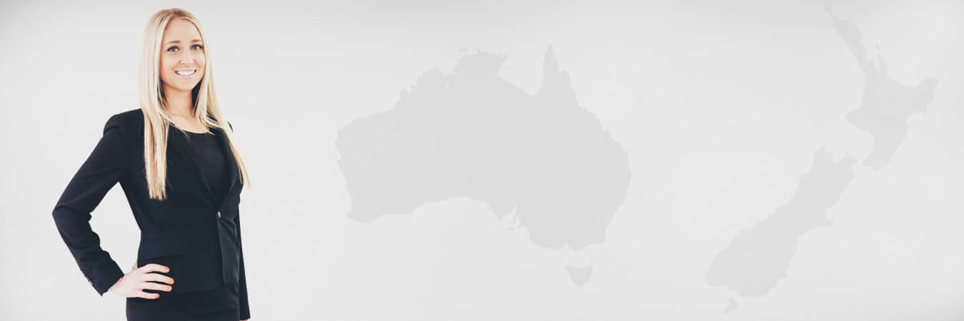 Lana - Australia and NZ map background