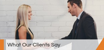 What our clients say