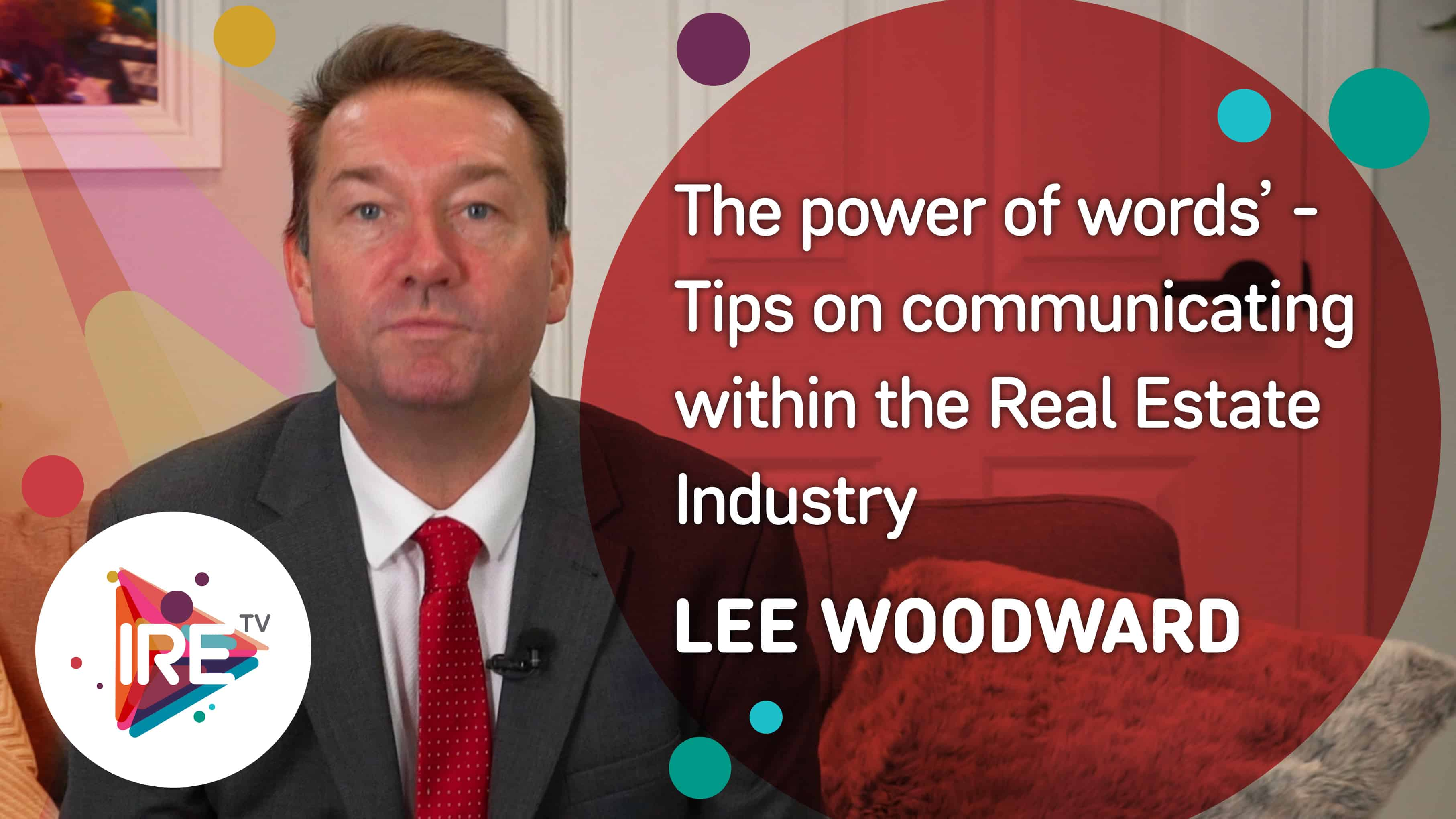 Lee Woodward – The power of words | Inspect Real Estate